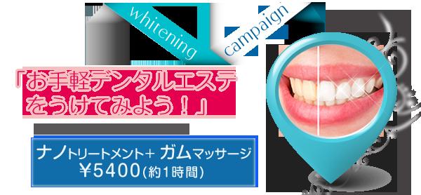 キャンペーン・オススメメニュー1